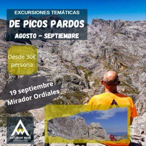 """SENDERISMO EN ASTURIAS. MIRADOR DE ORDIALES -  """"DE PICOS PARDOS"""" @ PARKING PANDECARMEN"""