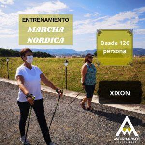 CLASE DE MARCHA NORDICA - GIJÓN @ GIJON