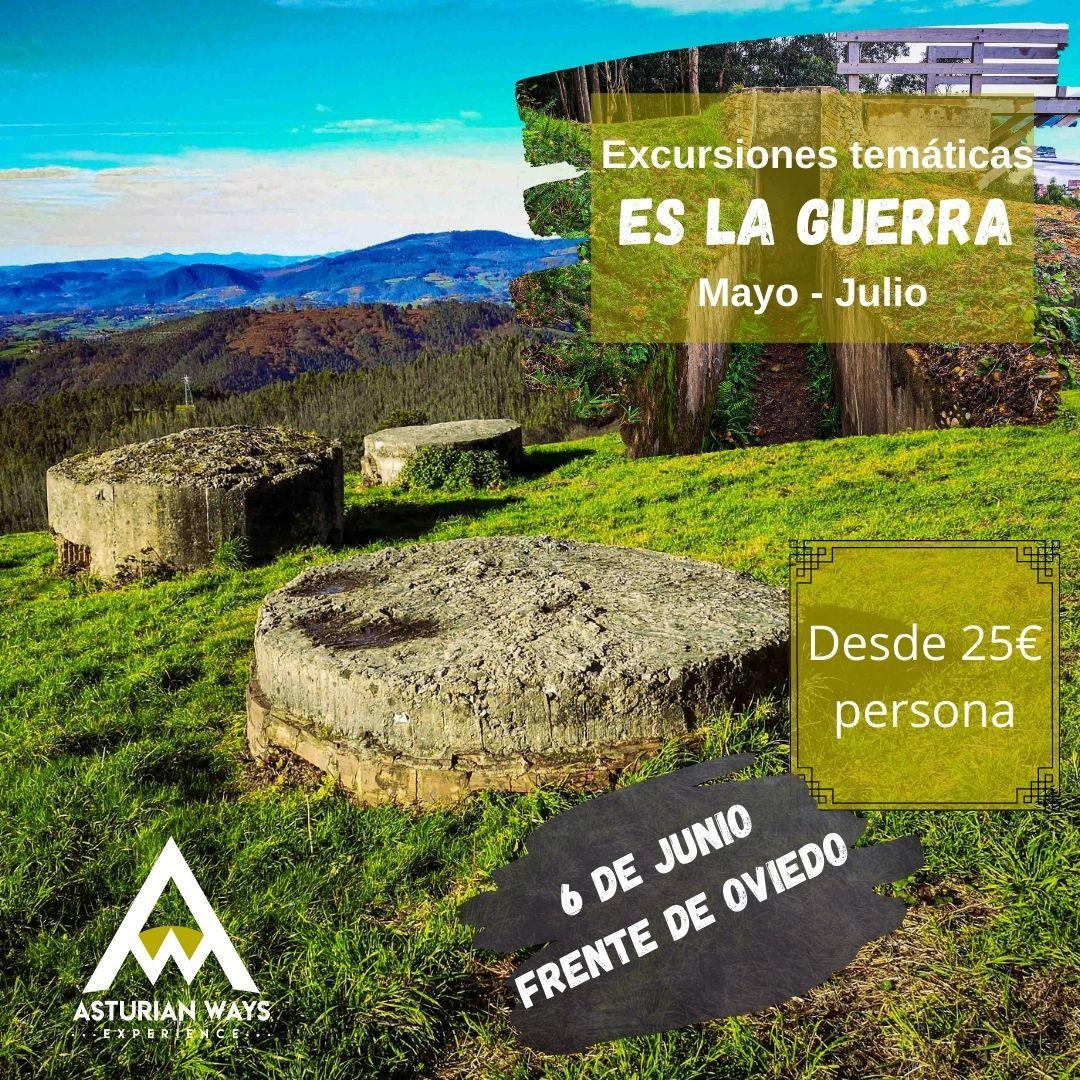 Excursión Guerra Civil.  Frente de Oviedo