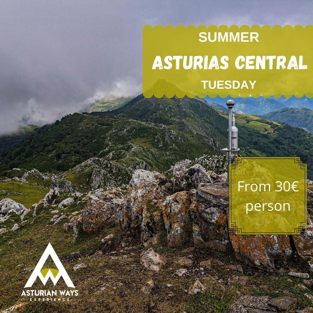 Trekking Asturias central area