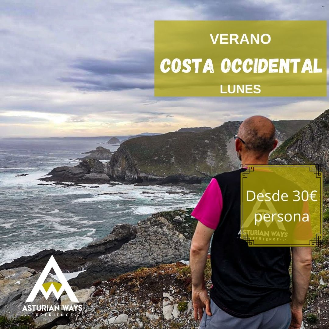 Senderismo verano costa occidental asturiana