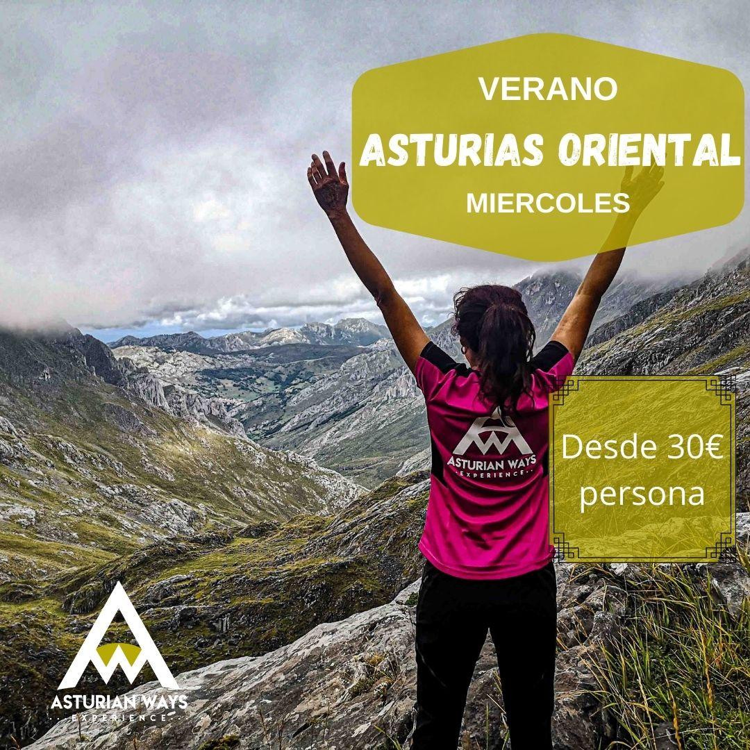 Senderismo verano Asturias oriental