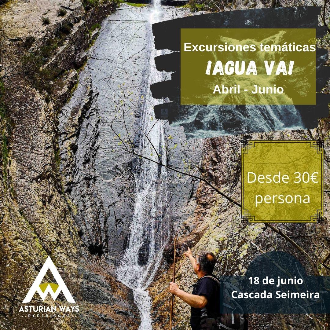 "SENDERISMO EN ASTURIAS. ""AGUA VA"". CASCADA DE SEIMEIRA @ SANTA EULALIA DE OSCOS"