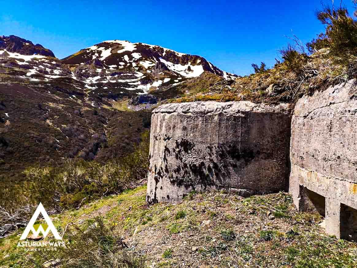 Bunker en Cordillera Cantábrica