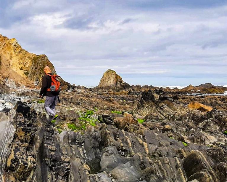 Ruta senderismo costa occidental 1