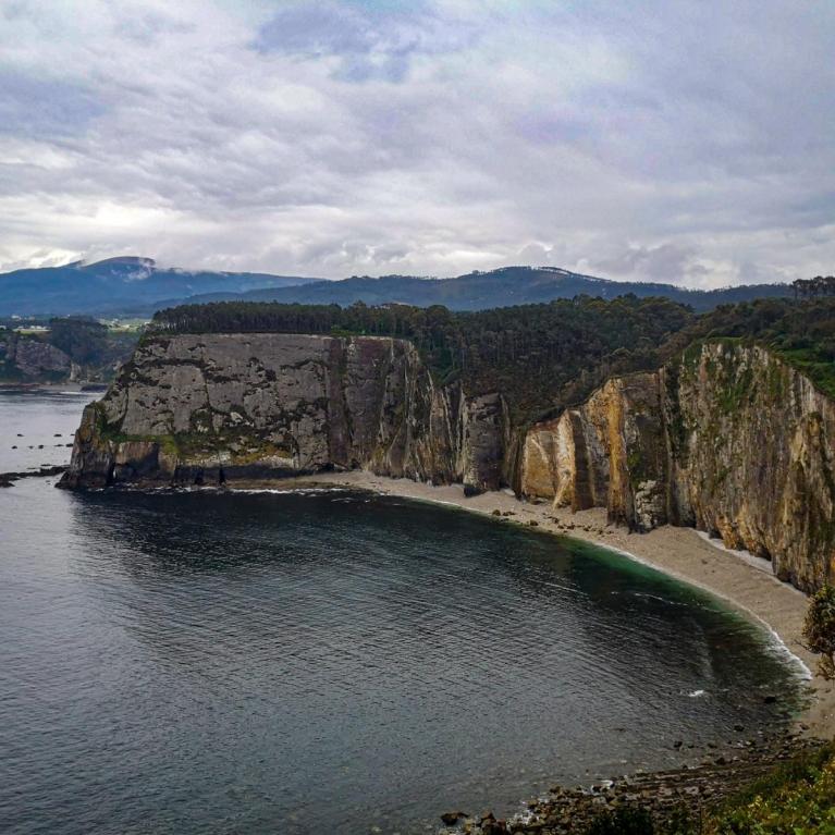 Playa zona Cabo Busto